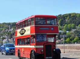Classic Red Bus for weddings in Bristol