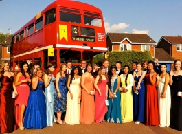 Double deck Bus for weddings in Rugby