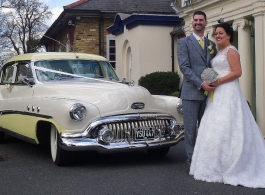 1951 classic Buick for weddings in Billericay