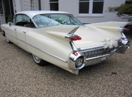 American Cadillac wedding hire in Staines