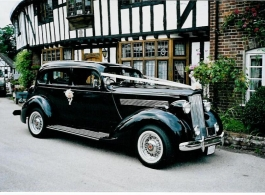 Vintage American car for weddings in Maidstone