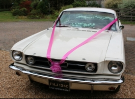 American wedding car for hire in Maidstone