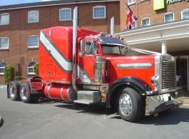 Big American Wedding Truck in Guildford