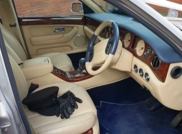Modern Bentley for weddings in Kidderminster