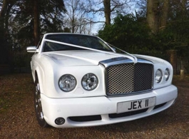 Bentley Arnage for weddings in Bournemouth