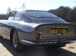 Classic Aston Martin for weddings in Bournemouth