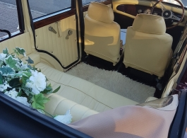 Vintage wedding car hire in Farnham