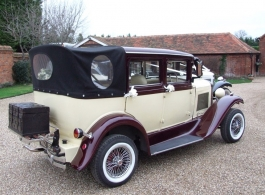 Vintage wedding car hire in Basingstoke