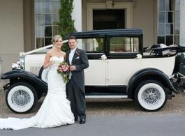 Badsworth wedding car in Reading