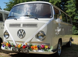 VW Campervan for weddings in London