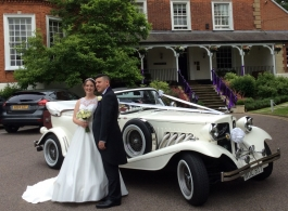 Vintage Style Beauford for weddings in Maidstone