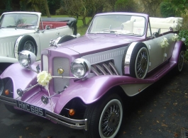 Beauford wedding car for weddings in Hampshire