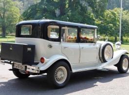 White Beauford for weddings in Bath