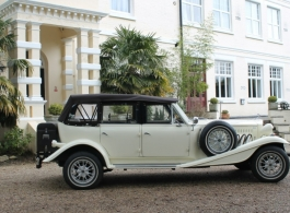 Ivory Beauford for wedding hire in Sevenoaks