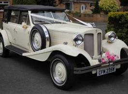 Beauford wedding car for hire in Bristol