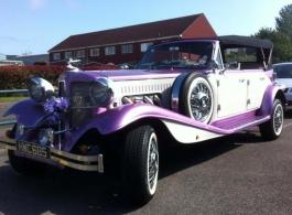 Beauford for weddings in Southsea
