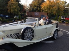 Ivory Beauford for weddings in West Malling
