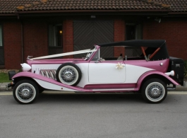 Vintage Beauford for weddings in Waterlooville, Hampshire