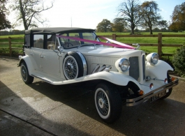 Ivory White Beauford for weddings in Watford