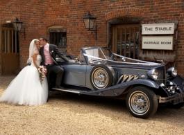 Blue Beauford for weddings in London