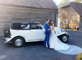 White Beauford for weddings in Maidstone
