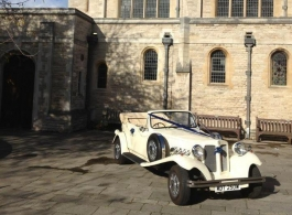 Beauford wedding car for hire in Chichester