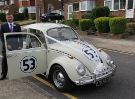 VW Beetle in Winchester