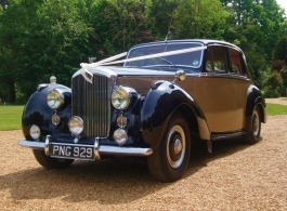 1953 Bentley R Type for weddings in Crowborough