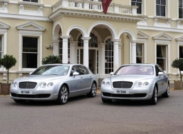 Bentley Flying Spur for weddings in Middlesex