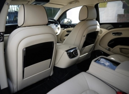 Grey Bentley Mulsanne for wedding hire in London