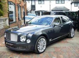 Bentley Mulsanne for wedding hire in Slough
