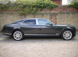 Bentley Mulsanne for weddings in London