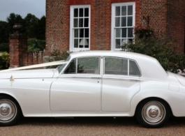 White Bentley S3 for weddings in East London