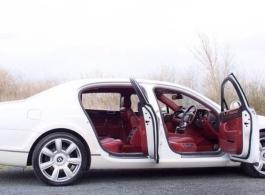 Modern Bentley Spur Wedding car in London