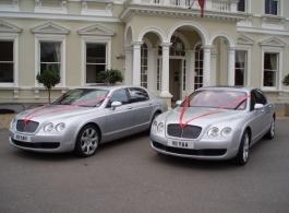 Modern Bentley for weddings in Greenford
