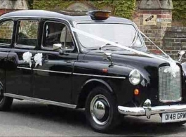 Classic Taxi wedding car hire in Farnborough