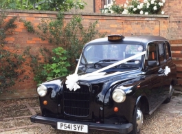 Black London Taxi For Wedding Hire In Farnham
