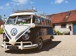 VW Campervan wedding hire in Southampton