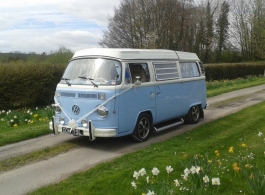 VW Campervan for weddings in Hook