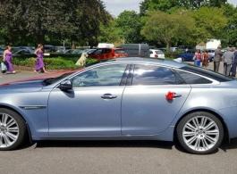 Jaguar XJ Portfolio for wedding hire in Canterbury