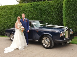Classic Rolls Royce Silver Shadow for weddings in Kensington