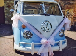 Classic VW Campervan for weddings in Whitstable