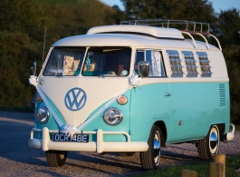1967 VW Campervan for weddings in Fareham