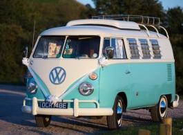 1967 VW Campervan for weddings in Fareham