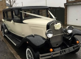Bramwith wedding car for hire in Chippenham