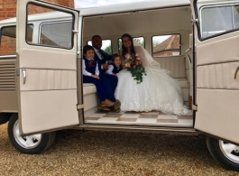 1966 VW Campervan for weddings in Bletchley
