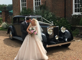 Vintage Rolls Royce Phantom for weddings in Croydon