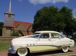 1950s Buick Sedan for weddings in Essex