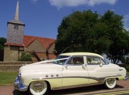 1950s Buick Sedan for weddings in Essex