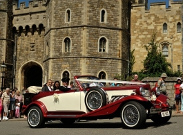 Vintage Beauford Beauford Wedding Car Hire In High Wycombe